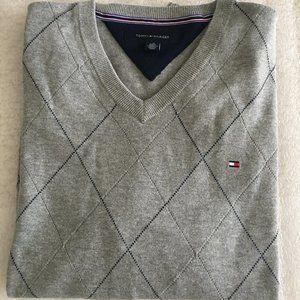 Argyle Men's Tommy Hilfiger V-Neck Sweater